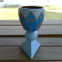 Golden Dawn Water Cup - Deluxe Painted