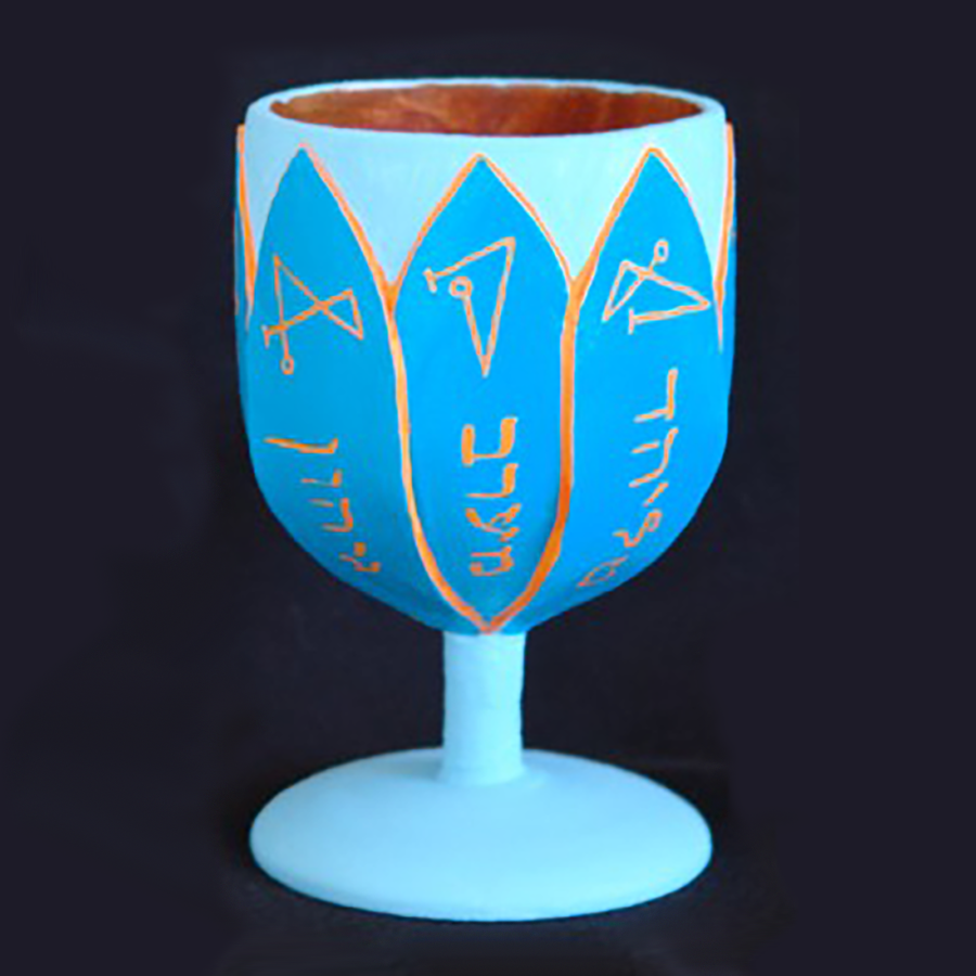 Golden Dawn Water Cup - Painted