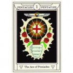 Ace of Pentacles: From the Golden Dawn Magical Tarot by Sandra Tabatha Cicero
