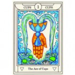 Ace of Cups: From the Golden Dawn Magical Tarot by Sandra Tabatha Cicero