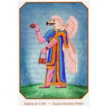 Kerub of Cups: From the Babylonian Tarot by Sandra Tabatha Cicero