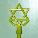 Hexagram Wand Head