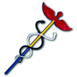 Golden Dawn Caduceus: Keryx Wand