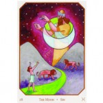 Babylonian Tarot The Moon, Sandra Tabatha Cicero