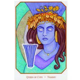 Queen of Cups: From the Babylonian Tarot by Sandra Tabatha Cicero