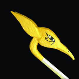 Golden Dawn Phoenix Wand (head)