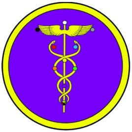 Golden Dawn Caduceus Badge