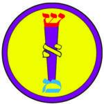 Golden Dawn Caduceus Badge