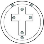 Golden Dawn Hegemon's Cross Admission Badge