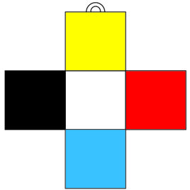 Golden Dawn Greek Cross of Five Squares