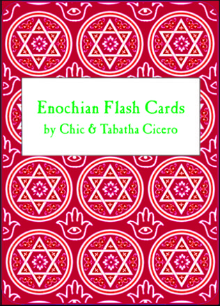 Golden Dawn Enochian Flash Cards