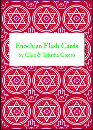 Golden Dawn Enochian Flash Cards