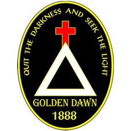 Golden Dawn Lapel Pin
