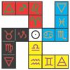 Elemental Fylfot Cross